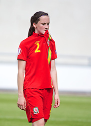 19.08.2013, Parcy Scarlets, Swansea, ENG, UEFA Damen U19 EM, Wales vs Daenemark, Gruppe A, im Bild Wales' Alys Hinchcliffe looks dejected as her side lose 1-0 to Denmark during the UEFA women U 19 championchip group A match between Wales and Denmark at Parcy Scarlets in Swansea, Great Britain on 2013/08/19. EXPA Pictures © 2013, PhotoCredit: EXPA/ Propagandaphoto/ David Rawcliffe<br /> <br /> ***** ATTENTION - OUT OF ENG, GBR, UK *****