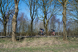 Mieke Kröger (GER) in the break at Healthy Ageing Tour 2018 - Stage 3a, a 66.2 km road race starting and finishing in Winschoten on April 6, 2018. Photo by Sean Robinson/Velofocus.com