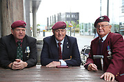Old Paras during the Soldier F Protest at Media City, Salford, United Kingdom on 18 May 2019.