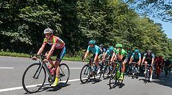 06.07.2017, Kitzbühel, AUT, Ö-Tour, Österreich Radrundfahrt 2017, 4. Etappe von Salzburg - Kitzbüheler Horn (82,7 km/BAK), im Bild Stephan Rabitsch (AUT, Team Felbermayr Simplon Wels) // Stephan Rabitsch (AUT, Team Felbermayr Simplon Wels) during the 4th stage from Salzburg - Kitzbueheler Horn (82,7 km/BAK) of 2017 Tour of Austria. Kitzbühel, Austria on 2017/07/06. EXPA Pictures © 2017, PhotoCredit: EXPA/ JFK
