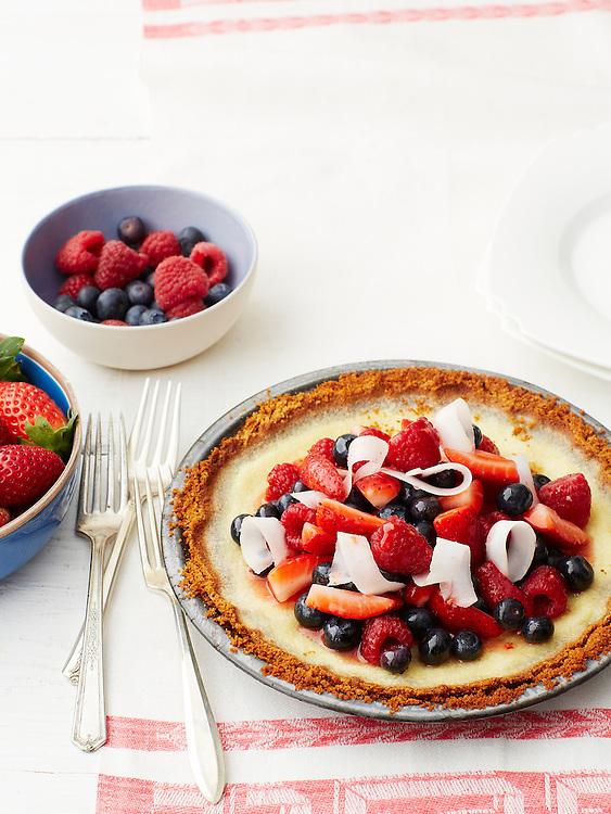 Tipsy Berry Pie