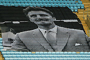 Jimmy Hill flag during the Sky Bet League 1 match between Coventry City and Swindon Town at the Ricoh Arena, Coventry, England on 19 March 2016. Photo by Simon Davies.