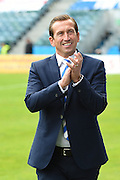 Gillingham  manager Justin Edinburgh before the EFL Sky Bet League 1 match between Gillingham and Oldham Athletic at the MEMS Priestfield Stadium, Gillingham, England on 8 October 2016. Photo by Martin Cole.