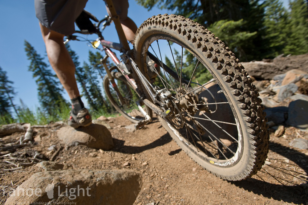 Northstar at Tahoe mountain bike park.