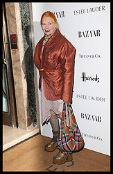 Vivienne Westwood  arriving at the Harper's Bazaar Women of the Year Awards in London, Wednesday, October 31st 2012 Photo by: Stephen Lock / i-Images