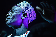 Percusist of and African Jazz Spirit. 21st International Jazz Festival in Saint Louis, Senegal, May 15 - 19, 2013.