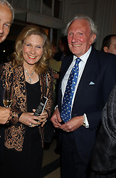 Wildlife artist DAVID SHEPHERD and MRS SHEPHERD at a evening to celebrate the unveiling of the British Luxury Club at The Orangery, Kensington Palace, London W8 on 16th September 2004.<br /><br />NON EXCLUSIVE - WORLD RIGHTS