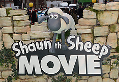 25 JAN 2015 Shaun The Sheep UK Film Premiere