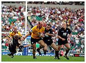 Saracens v London Wasps. 4-9-04. Season 2004-2005