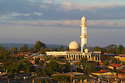 A mosque n the early morning sun, Hossana, Ethiopia.