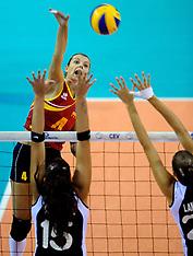20120907 NED: EK Kwalificatie vrouwen Oekraïne - Griekenland, Apeldoorn