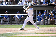 CHICAGO - JULY 23:  Adam Eaton of the Chicago White Sox bats against the Kansas City Royals on July 23, 2014 at U.S. Cellular Field in Chicago, Illinois.   (Photo by Ron Vesely)