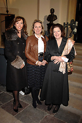 Left to right, SUZANNE ROPNER, SALLY BROOK SHANAHAN and SUSAN KEYSER at a Christmas Concert in aid of The Children's Trust at The Royal Hospital, Chelsea, London on 3rd December 2007.<br /><br />NON EXCLUSIVE - WORLD RIGHTS