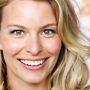 """NLD/Amsterdam/20150515 - Castpresentatie nieuwe film van Johan Nijenhuis  """"Rokjesdag"""", Melissa Drost"""