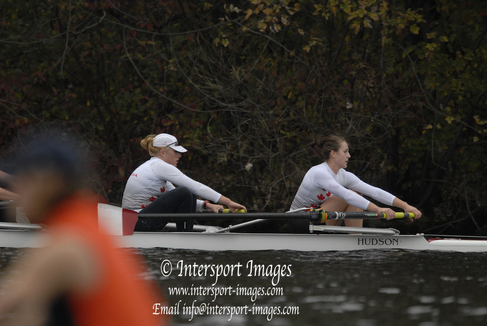 Boston, Massachusetts,  Forty Second, [42nd] Head of the Charles, 22/10/2006.  Photo  Peter Spurrier/Intersport Images...[Mandatory Credit, Peter Spurier/ Intersport Images] Rowing Course; Charles River. Boston. USA