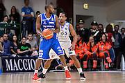 Zabien Dowdell<br /> Banco di Sardegna Dinamo Sassari - Red October Pallacanestro Cantù<br /> LegaBasket Serie A Poste Mobile 2016/2017<br /> Sassari 12/02/2017<br /> Foto Ciamillo-Castoria