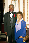 Ossie Davis and Ruby Dee at the 3rd Annual Directors Guild Of America Honors at the Waldorf-Astoria in New York City. June 9, 2002. <br />Photo: Evan Agostini/ImageDirect