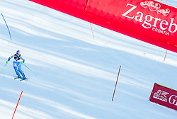 """Maze Tina (SLO) competes during FIS Alpine Ski World Cup 2014/15 5th Ladies' Slalom race named """"Snow Queen Trophy 2015"""", on January 4, 2015 in Course Crveni Spust at Sljeme hill, Zagreb, Croatia.  Photo by Vid Ponikvar / Sportida"""