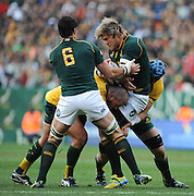 CAPE TOWN, SOUTH AFRICA - Saturday 28 September 2013, Duane Vermeulen of South Africa during the Castle Lager Rugby Championship test match between South Africa (Sprinkboks) and Australia (Wallabies) at DHL Newlands in Cape Town.<br /> Photo by Roger Sedres/ ImageSA