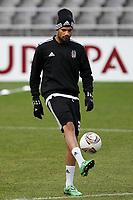 20120213: BRAGA, PORTUGAL - Tiago Correia at the Besiktas JK training session before UEFA Europe League match against SC Braga.<br /> PHOTO: CITYFILES