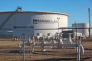 1/13/2016, Magellan oil storage tanks in Cushing, Oklahoma. An increase in earthquakes spread worry about the safety of the tanks.