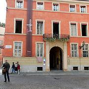 ITA/Parma/20120930- Hotel waar de Koninklijke Familie de lunch heeft geboten na de doop van prinses Luisa Irene