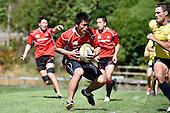 20150203 Wellington Sevens - Australia and Japan Training