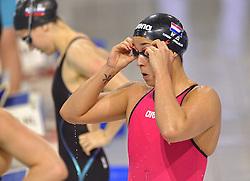 04-04-2015 NED: Swim Cup, Eindhoven<br /> Ranomi Kromowidjojo, 100m freestyle<br /> Photo by Ronald Hoogendoorn / Sportida