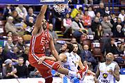 DESCRIZIONE : Milano Lega A 2014-15  EA7 Emporio Armani Milano vs Vagoli Basket Cremona<br /> GIOCATORE : Samardo Samuels<br /> CATEGORIA : Schiacciata<br /> SQUADRA : EA7 Emporio Armani Milano<br /> EVENTO : Campionato Lega A 2014-2015<br /> GARA : EA7 Emporio Armani Milano vs Vagoli Basket Cremona<br /> DATA : 25/01/2015<br /> SPORT : Pallacanestro <br /> AUTORE : Agenzia Ciamillo-Castoria/I.Mancini<br /> Galleria : Lega Basket A 2014-2015  <br /> Fotonotizia : Cantù Lega A 2014-2015 Pallacanestro : EA7 Emporio Armani Milano vs Vagoli Basket Cremona<br /> Predefinita :