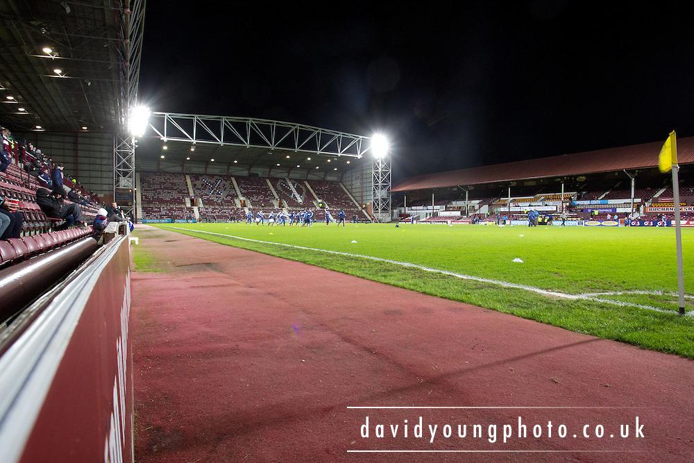 Tynecastle - Home of Hearts.. - © David Young - www.davidyoungphoto.co.uk - email: davidyoungphoto@gmail.com
