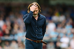 Wycombe Wanderers manager Gareth Ainsworth cuts a dejected figure - Mandatory by-line: Dougie Allward/JMP - 21/04/2018 - FOOTBALL - Adam's Park - High Wycombe, England - Wycombe Wanderers v Accrington Stanley - Sky Bet League Two