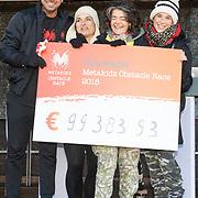 NLD/Ouderkerk aan de Amstel/20181118- Metakids Obstacle Race, Rick Brandsteder, Anouk de Mol en Carly Wijs en Diewertje Blok