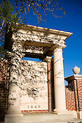 OXFORD, MS - APRIL 12:   University of Mississippi entrance sign on the Campus of Ole Miss on April 12, 2008 in Oxford, Mississippi.  (Photo by Wesley Hitt/Getty Images) *** Local Caption ***