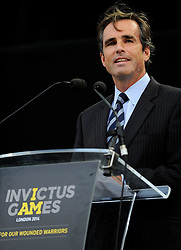 Bob Woodruff  - Photo mandatory by-line: Joe Meredith/JMP - Mobile: 07966 386802 - 14/09/14 - The Invictus Games - Day 4 - Closing Ceremony - London - Queen Elizabeth Olympic Park