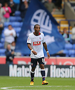 Goal scorer Bolton Wanderers midfielder Neil Danns during the Sky Bet Championship match between Bolton Wanderers and Brighton and Hove Albion at the Macron Stadium, Bolton, England on 26 September 2015.