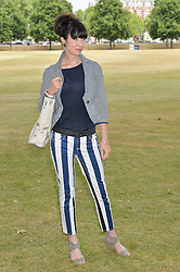 LYSETTE ANTHONY at the Flannels For Heroes cricket competition in association with Dockers held at Burton Court, Chelsea, London on 19th June 2015