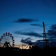 Vista del Parque de Atracciones Luna Park, Guarenas, Estado Miaranda en donde se aprecia la falta del servicio electrico 10-01-2010<br /> Photography by Aaron Sosa