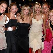 NLD/Utrecht/20070928 - Premiere film Goud over Nederlands dames hockeyelftal, Eefke Mulder, Floortje Engels, Minke Smabers, Lisanne de Roever , Maartje Paumen en Janneke Schopman