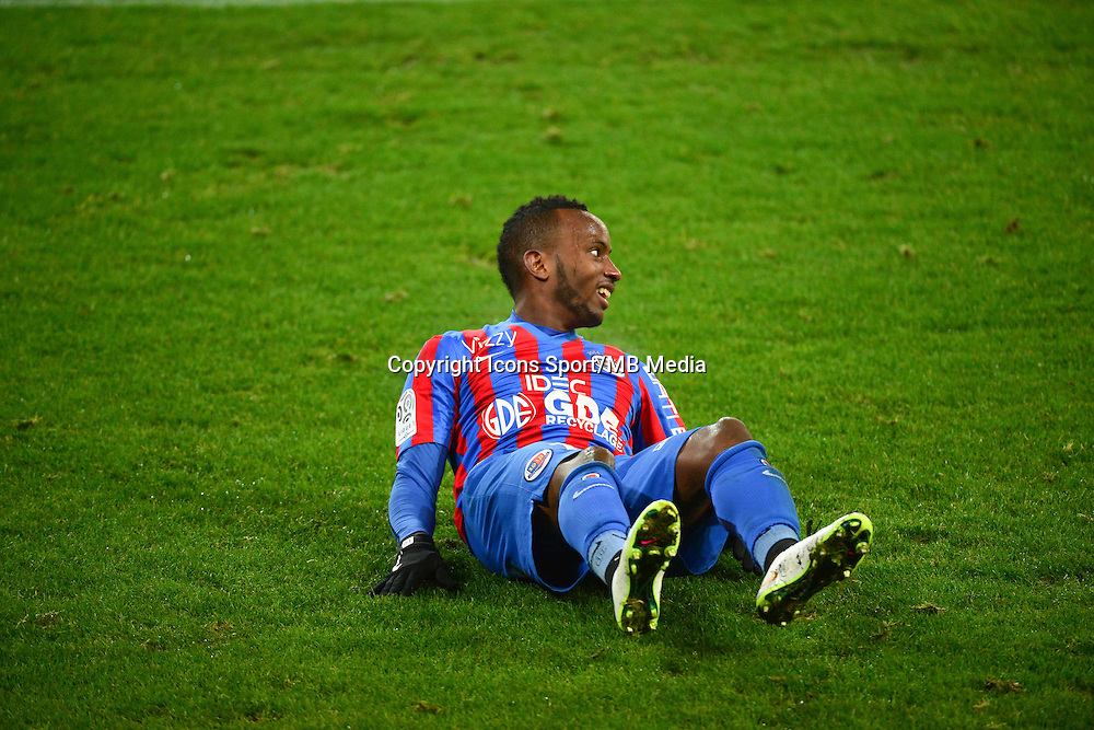 Lenny NANGIS - 06.12.2014 - Caen / Nice - 17eme journee de Ligue 1 -<br />