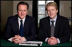 David Cameron and Jo Johnson