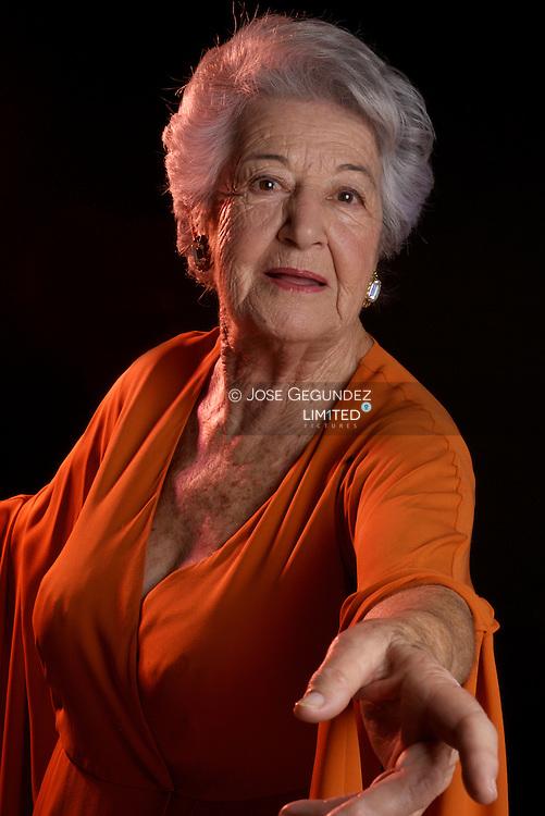 Spanish actress Asuncion Balaguer