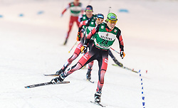 19.02.2016, Salpausselkae Stadion, Lahti, FIN, FIS Weltcup Nordische Kombination, Lahti, Langlauf, im Bild Franz-Josef Rehrl (AUT) // Franz-Josef Rehrl of Austria competes during Cross Country Gundersen Race of FIS Nordic Combined World Cup, Lahti Ski Games at the Salpausselkae Stadium in Lahti, Finland on 2016/02/19. EXPA Pictures © 2016, PhotoCredit: EXPA/ JFK