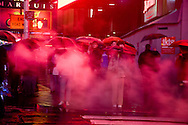 New York - Times square area under the rain  New york - United states  Manhattan / Times square  sous la pluie, New york - Etats unis