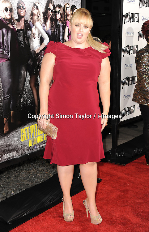 Rebel Wilson attends the premiere of Pitch Perfect at ArcLight Hollywood,  Monday September 24, 2012. Photo By Simon Taylor / i-Images