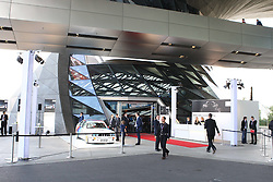 15.07.2011, Olympia Stadion, Muenchen, GER, DTM, DTM Show Event in Muenchen, im Bild Übersicht Außenansicht - Vorstellung des BMW M3 Concept-Car für die DTM 2012 - BMW Welt Doppelkegel - // during the DTM Show ,  on 2011/07/15, Olympia Stadion, Munich, Germany, EXPA Pictures © 2011, PhotoCredit: EXPA/ nph/  Schmitt       ****** out of GER / CRO  / BEL ******
