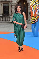 Nancy Dell'olio at the Royal Academy of Arts Summer Exhibition Preview Party 2017, Burlington House, London England. 7 June 2017.