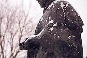 A snowy day on campus Dec. 9.