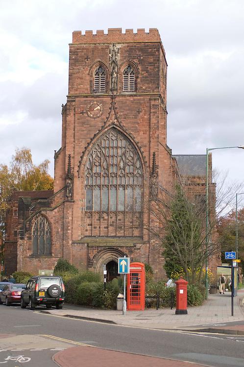 Shrewsbury Abbey, Shropshire