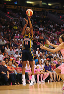 Aug 8, 2010; Phoenix, AZ, USA; Indiana Fever forward Jessica Moore puts up a basket during the first half at US Airways Center.  Mandatory Credit: Jennifer Stewart-US PRESSWIRE