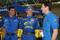 AUTO - WRC 2006 - MEXICO RALLY - LEON 05/03/2006 - <br /> PETTER SOLBERG (NOR) / SUBARU IMPREZA WRC 2006 - AMBIANCE - PORTRAIT<br /> FRANCOI XAVIER DE MAISON SUBARU TEAM IMPREZA WRC 2006 - ACTION<br /> <br /> PHOTO : FRANCOIS BAUDIN / DIGITALSPORT